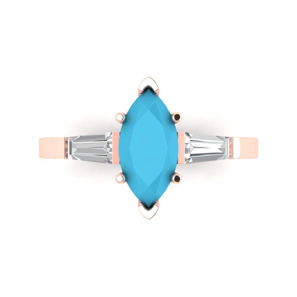 1.5 ct Brilliant Heart Cut Designer Genuine Flawless VVS1 Simulated Emerald 14K 18K Rose Gold Solitaire Ring