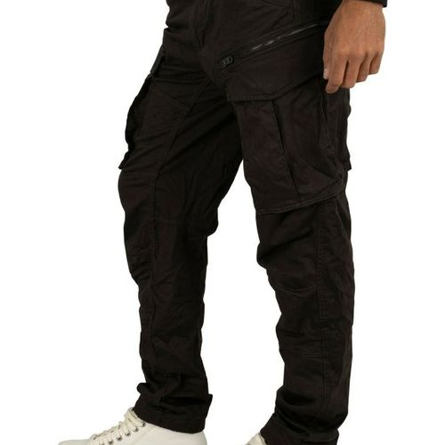 Celana Panjang Kargo Hitam