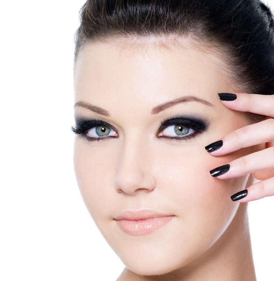 eyelashes and eyebrow care