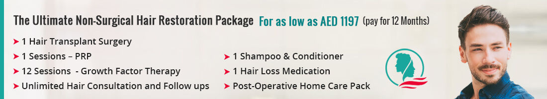 The Ultimate Non-Surgical Hair Restoration Package
