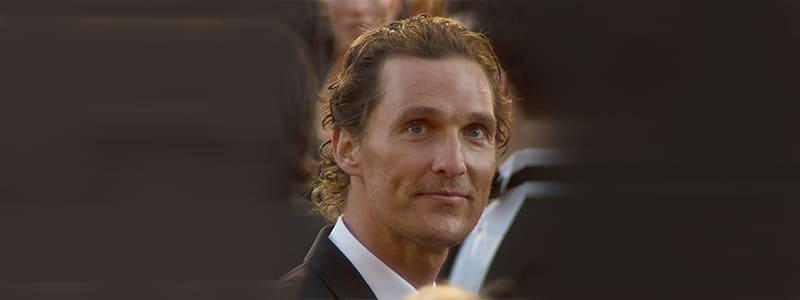 Matthew-McConaughey Hair Transplant