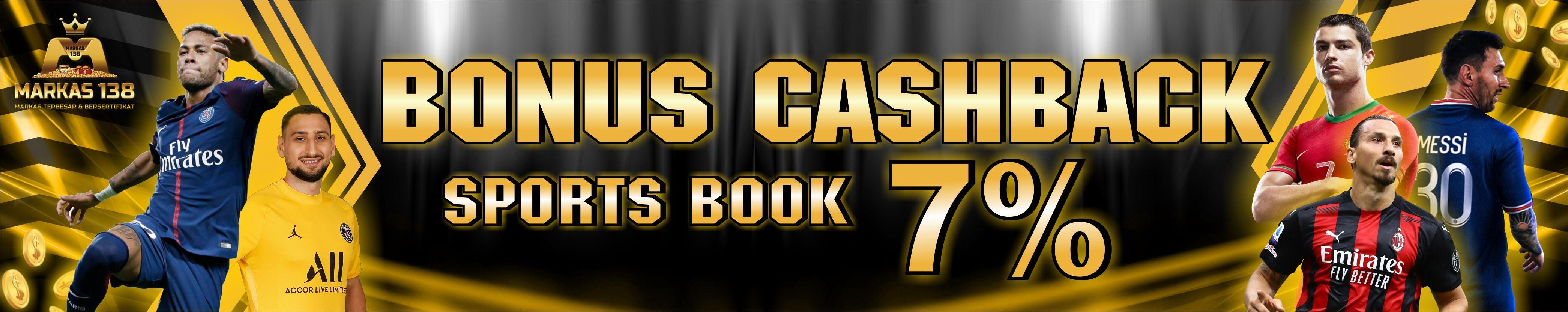 Bonus Cashback (Sportsbook⟩ 7%