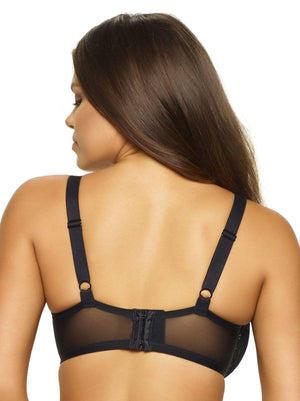 Paramour by Felina Tempting Plush Contour Bra color-black