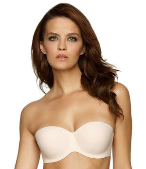 Felina Hint Of Skin Contour Strapless Bra color-bare