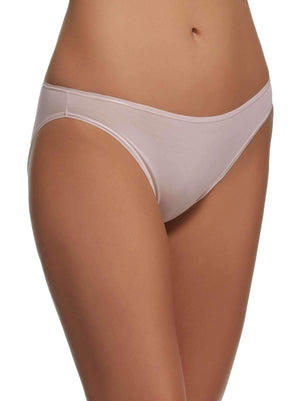 Felina Sublime Hi Cut Brief color-rosewater