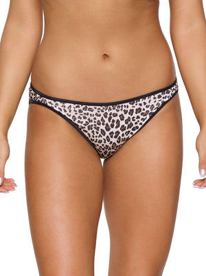 Felina So Smooth Modal Low Rise Bikini color-cheetah