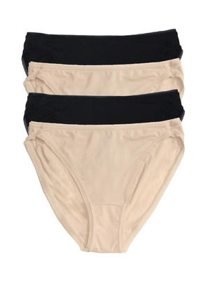 501p hi cut geo lave panties color-black bare