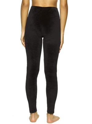 Felina Velour Leggings color-black