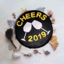 New Year Cheers Cake