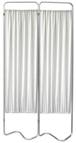 2 Panel Medical Privacy Screen Curtains - Omnimed - 153052