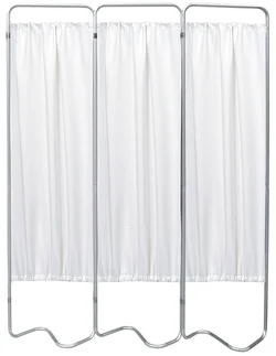 3 Panel Medical Privacy Screen Curtains - Omnimed - 153053