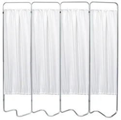 4 Panel Medical Privacy Screen - Omnimed - 153054