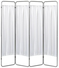 Economy 4 Section Folding Medical Privacy Screen - Omnimed - 153094