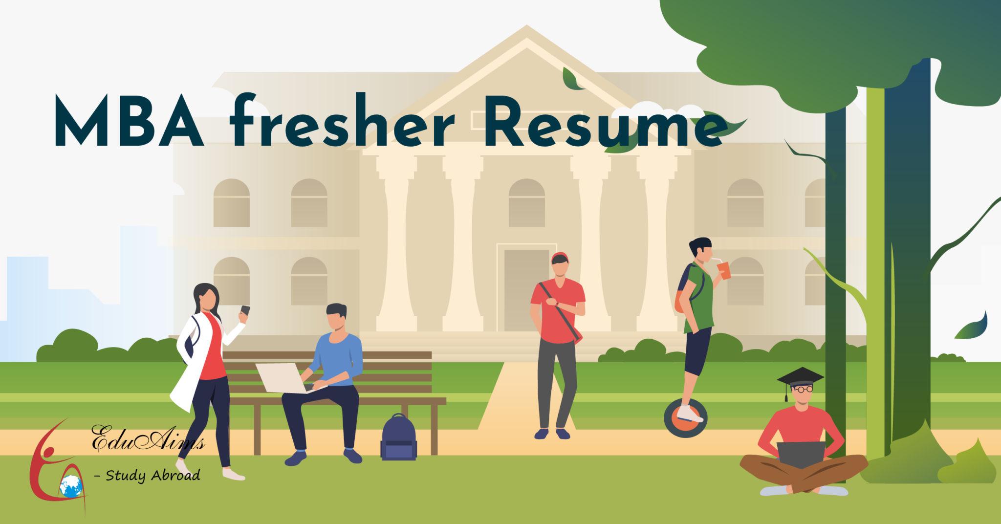 Logo Cover 1to15 13 EduAims MBA Fresher Resume