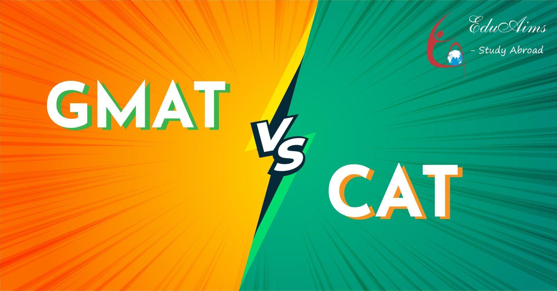 GMAT vs CAT, comparison between them