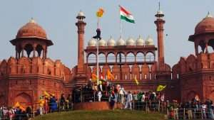 Protestors-at-Red-Fort