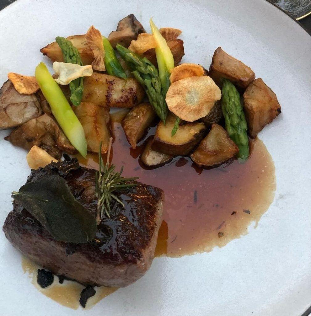 Prime New York Strip Steak of Solbar