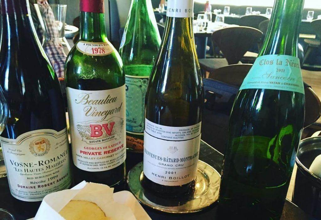 Assortment of Solbar wines