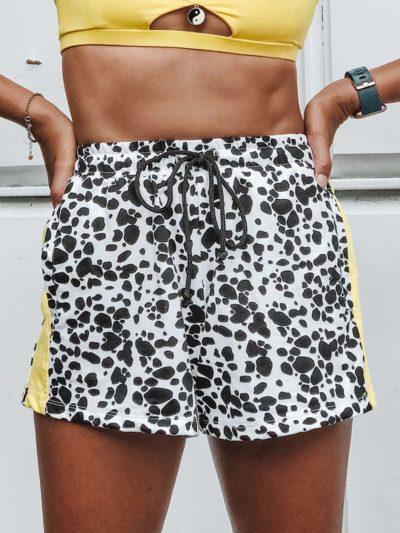 Appearing Offline Shorts – Dalmatian