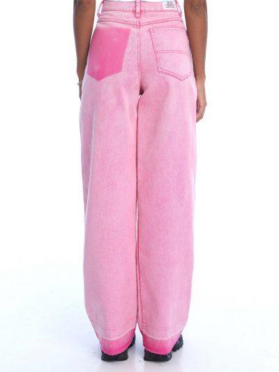 Boy Problems Baggy Jeans – Powder Pink
