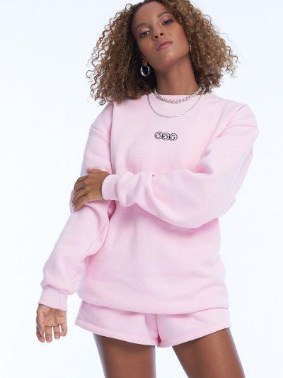 Smile or Lie Sweater – Pink
