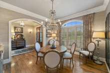 Formal Dining to enjoy home cooked culinary experiences
