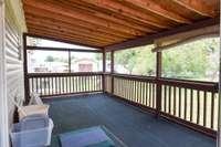 Large screened deck