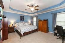 17x14 oversized primary bedroom on first floor