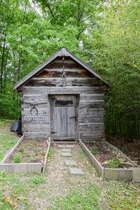 Garden House, originally a smoke house in Celina, TN