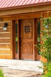 Beautiful entrance door