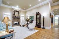 Family Room off Kitchen & Dining Room