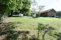 Great fenced rear yard