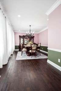 Charming formal dining room