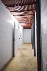 Huge storage area in unfinished basement