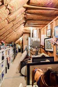 Very large walk-in storage room
