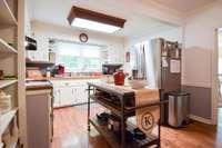 Lovely crisp white kitchen