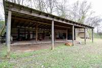 Perfect pole barn and storage shed