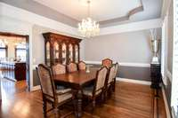 Gorgeous formal dining room