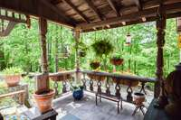 Delightful covered deck