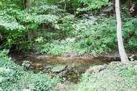 Nice creek at the rear