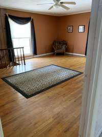 Another area that can be used as a den or whatever purpose you see fit.  This room also has a fireplace.
