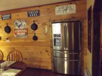 Country living with cabin appeal