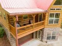 Two wonderful rear covered decks