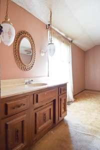 Vanity off bedroom