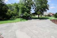 Basketball court at the clubhouse