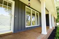 Fantastic covered front porch