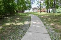Perfect concrete walkway