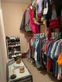 Walk in closet for Bedroom 2