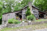 """Superb """"Mud Lick"""" house, structure moved from Mud Lick, Kentucky"""