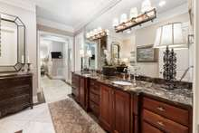 EnSuite with separate spaces for both to enjoy